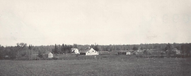 Mortensen farm, Wannaska MN